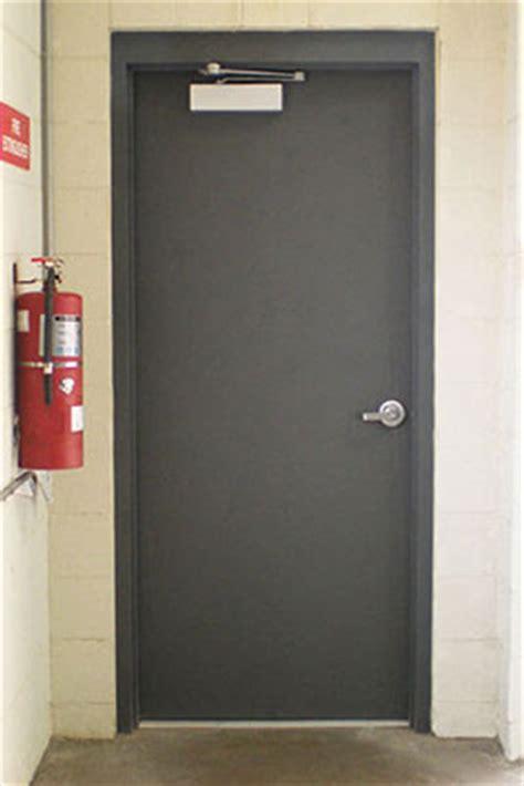 Firerated Commercial Steel Doors, Metal Fire Doors