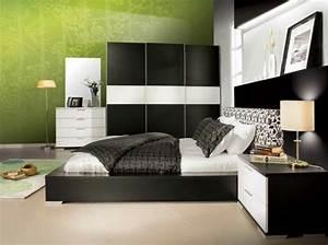 Schlafzimmer In Grün Gestalten : modernes schlafzimmer gr n ~ Michelbontemps.com Haus und Dekorationen