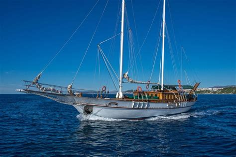 Cabin Charter Cabin Charter On A Traditional Croatian Gulet 7nts