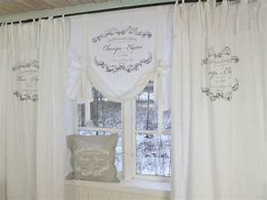 Shabby Chic Gardinen : vorhang elegance weiss schlaufen gardine 120x240 cm 2 st ck gardinen vorh nge gardinen ~ Eleganceandgraceweddings.com Haus und Dekorationen