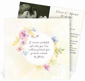 les 46 meilleures images du tableau invitation With chambre bébé design avec faire part mariage fleuri