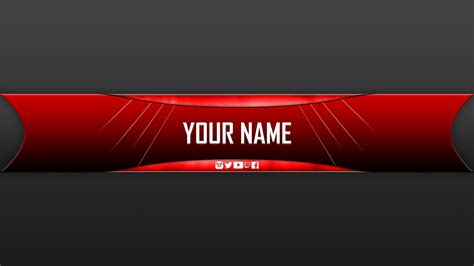 descargar youtube banner template free youtube banner download template business idea