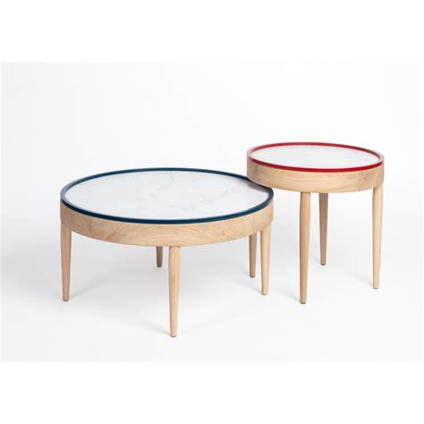 table basse marbre ronde table basse bouillotte