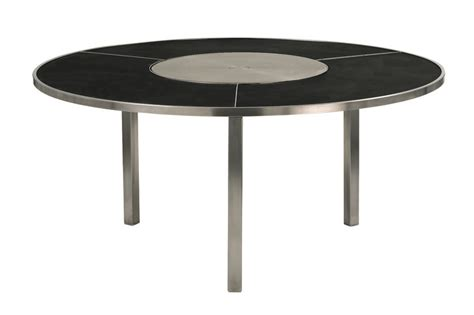 garden table with lazy susan o zon collection by