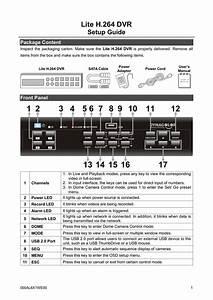 Dynacolor Lite H 264 Dvr Setup Guide