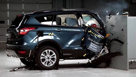 latest iihs crash tests throwing small crossovers