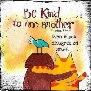"Karma Krew on Twitter: ""Be kind to one another. Even if ..."
