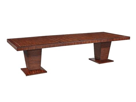 The Boulevard Double Pedestal Table Dining Room Collection