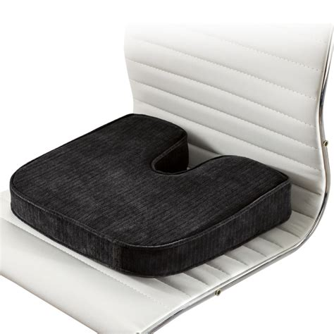 Orthopedic Chair Cushion by Orthopedic Seat Cushions At Brookstone Buy Now