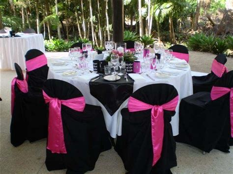 black chair covers table cloths any pics wedding