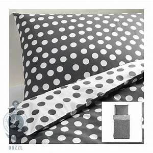 Ikea Bettwäsche Weiß : ikea stenkl ver wei grau gepunktete bettw sche set 2 teilig 140x200cm baumwolle ebay ~ Markanthonyermac.com Haus und Dekorationen