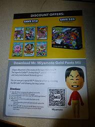 Gold Pants Mii QR Code