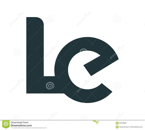 Le Glühbirnen Design by Le Logo Design Vector Illustratie Illustratie Bestaande