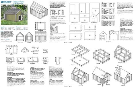 large dog house plans gable roof style doghouse