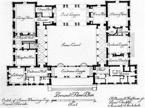 mexican hacienda house plans spanish house plans  courtyard house plans mediterranean style