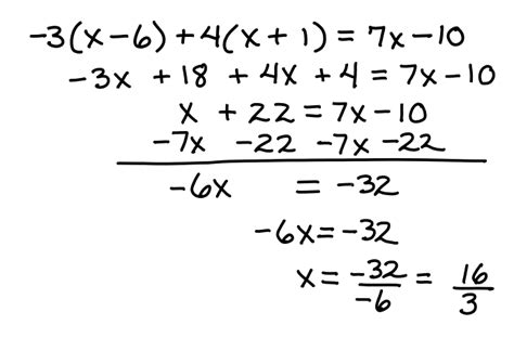 Multistep Equations  Learning Algebra Can Be Easy
