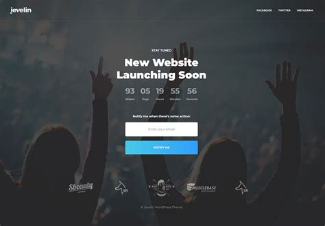 Coming Soon Theme 20 Free Premium Coming Soon Themes Plugins