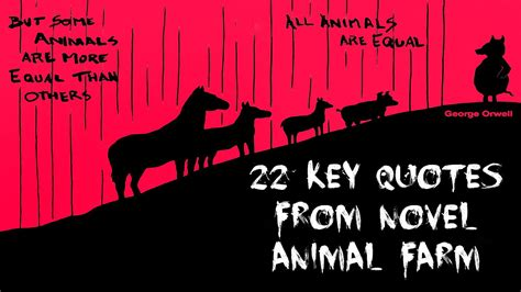 CORRUPTION QUOTES FROM ANIMAL FARM image quotes at