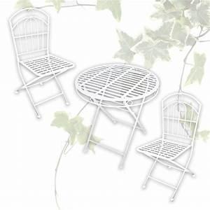 Gartenmöbel Tisch Metall : tisch bistrotisch klapptisch stuhl klappstuhl gartenm bel metall landhaus stil ebay ~ Markanthonyermac.com Haus und Dekorationen