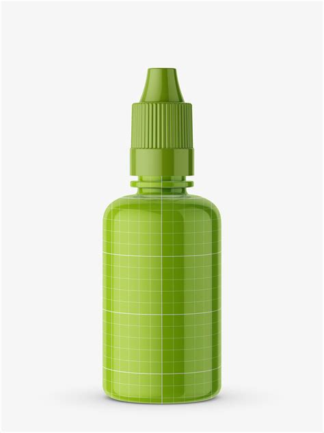 All free mockups include smart objects for easy edit. Glossy dropper bottle mockup - Smarty Mockups