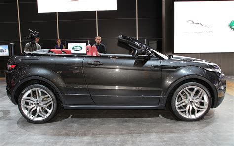 2018 Range Rover Evoque Convertible Cabriolet Comes