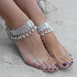 1000 ideas about indian anklets on pinterest silver With robe fourreau combiné avec bracelet argent charms