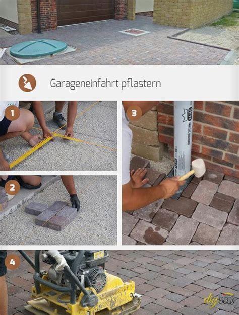 einfahrt pflastern anleitung garageneinfahrt pflastern gardening gala bau garage