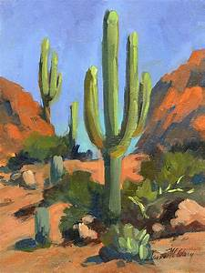 Oil paintings, Cactus and Deserts on Pinterest