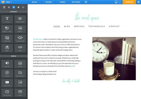 Weebly Launches Its Android App Mobile Html Site Creator