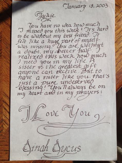 Miss U Love Letter