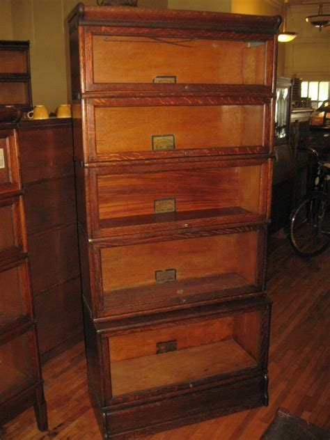 Ebay Bookcases by Antique Globe Wernicke Mission Oak 5 Stack Barrister