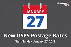 Usps Announces Postage Rate Increase Starts January 27