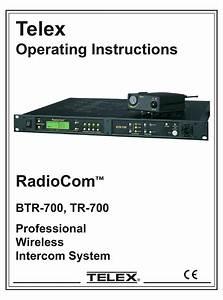 Telex Radiocom Btr