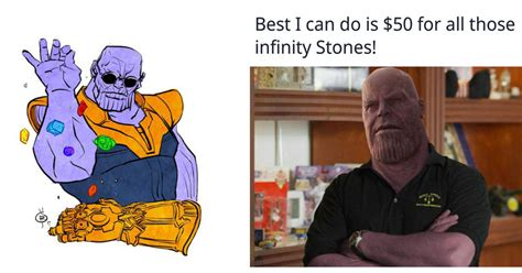 Thanos Memes - thanos gets the meme treatment after the release of the infinity war trailer memebase