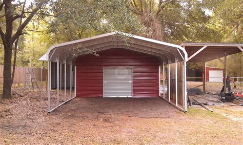 Large Metal Carport Garage  Iimajackrussell Garages