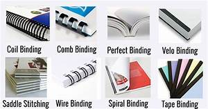 custom finishing and binding design printing los With binding options for large documents