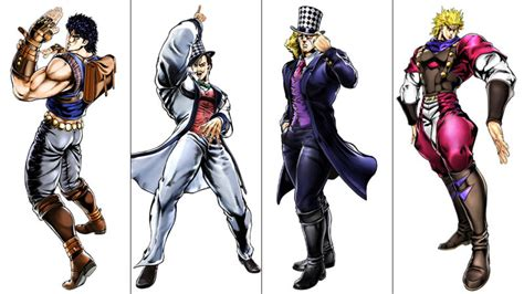 anime characters fight jojo all the characters in the new jojo s adventure