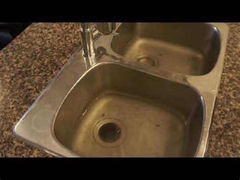 kitchen sink won t drain not clogged clogged drain how to unclog a clogged kitchen sink easy
