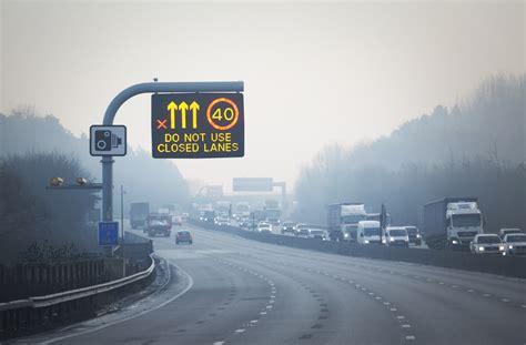 uk set     miles  smart motorways