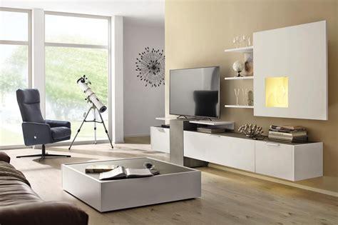 Möbel Modern Wohnzimmer by Wohnwand In Grau Wei 223 Wohnw 228 Nde H 252 Lsta H 252 Lsta