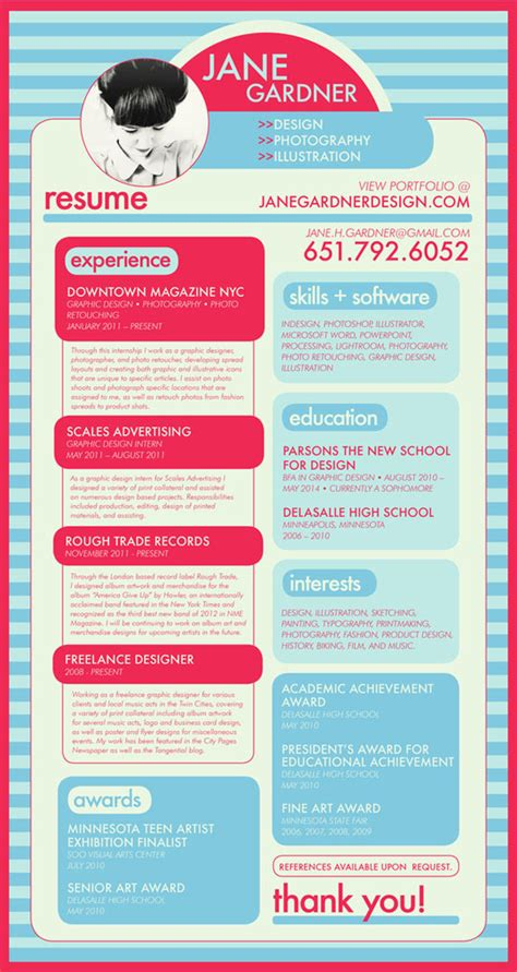 showcase of inspiring resume designs 2012 designbeep