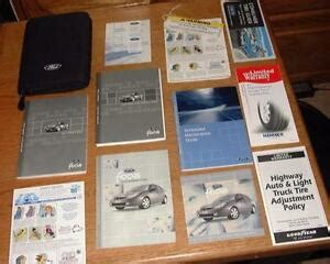 ford focus owners manual ebay