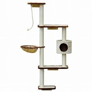Arbre À Chat Mural : arbre chat fixer au mur mabel silvio design ~ Melissatoandfro.com Idées de Décoration
