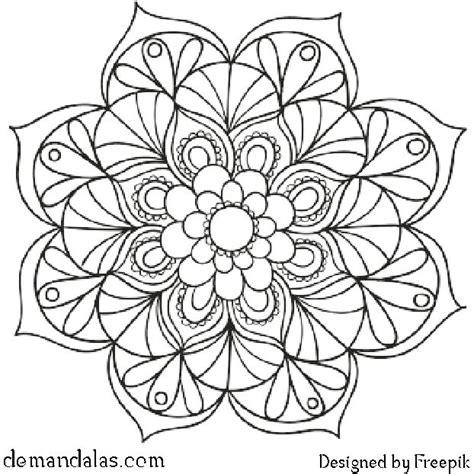 Mandalas Para Imprimir Y Colorear  Descargar En Pdf E
