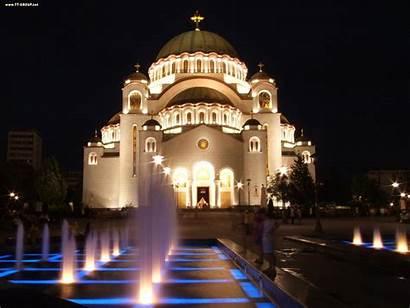 Hram Svetog Save Srbija Serbia Beogradu Belgrade