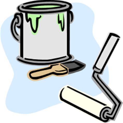 dessin pot de peinture pinceau cinq astuces pour vos travaux de peinture astuces hebdo