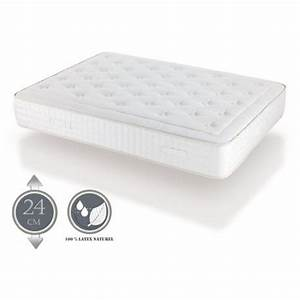 Matelas En Latex Naturel : matelas naturalatex 24 cm latex naturel aloe vera ~ Premium-room.com Idées de Décoration