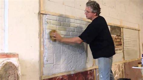 Einfach Verblender Wohnzimmer Klinker Innenbereich Streichen Wohn Design