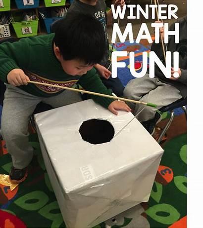 Winter Math Kindergarten Activities Fun Differentiated Worksheets
