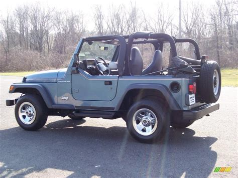 gunmetal blue jeep gunmetal pearlcoat 1999 jeep wrangler se 4x4 exterior